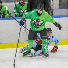 """Lietuvos čempionato lyderių mūšį laimėjęs """"Kaunas Hockey"""" susigrąžino pirmąją poziciją lygoje"""
