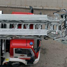 Ugniagesiai gelbėjo skalbimo mašinoje užstrigusią vaiko koją