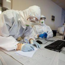 D. Razmuvienė: šiuo metu COVID-19 infekcija serga 3301 medikas