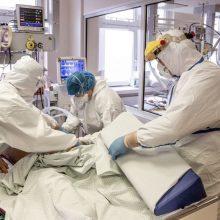 Ligoninėse gydomi 1654 COVID-19 pacientai, 119 iš jų – reanimacijoje