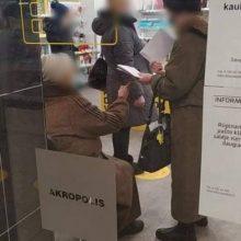 "Apie Lietuvos pašto skyrių ""Akropolyje"": čia – visiška netvarka"