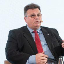 L. Linkevičius su ES šalių ministrais diskutuos apie koronaviruso pandemiją Ukrainoje