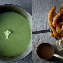 Savaitgaliui po švenčių – lengva sriuba ir populiariausias ispaniškas desertas