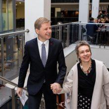 Teisme atverčiama R. Šimašiaus ir A. Matulaitės skyrybų byla