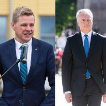 R. Šimašius apie G. Nausėdos komentarus: neramu dėl Prezidentūros orumo