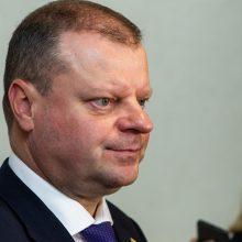 S. Skvernelis tikrinasi pasitikėjimą Seime: piktinasi, kad siūlo žaisti pokerį