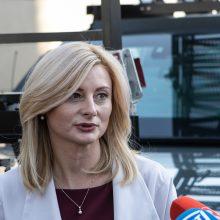 Ministrė: atvykstant iš nedidelės rizikos trečiųjų šalių nereikėtų liepti izoliuotis