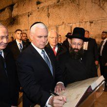 Per Holokausto atminimo renginį Izraelis ir JAV pasmerkė Iraną