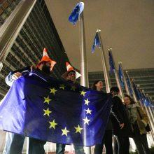 """Po """"Brexit"""" ES atverčia naują puslapį ir pereina prie prekybos derybų su JK"""