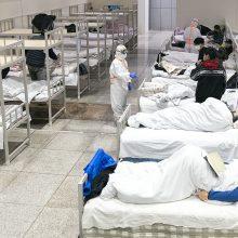 PSO prašo paaukoti 675 mln. dolerių kovai su koronavirusu