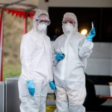 Intensyvesnis testavimas dėl koronaviruso – keturiose savivaldybėse