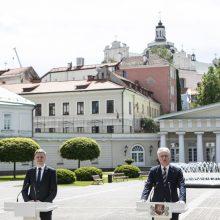 G. Nausėda: Vilniaus miestas atveria erdves kultūrai