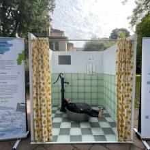 M. Dirsytės performansu šalyje startuoja vandeniui tausoti skirta kampanija