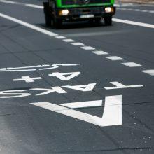 """""""A"""" juosta važiuojantiems vairuotojams – naujas drausminimo būdas"""