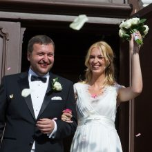 Teismas nutraukė Antano ir Aistės Guogų santuoką