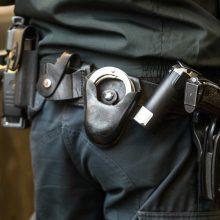 Kėdainiuose sumuštas neuniformuotas policininkas