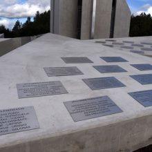 Pradedama Kryžkalnio memorialo Lietuvos partizanams statyba
