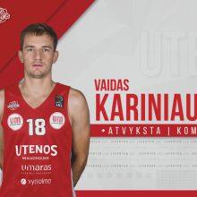 """""""Juventus"""" išpirko V. Kariniauską iš Kėdainių klubo"""