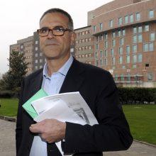 Garsus gydytojas sukėlė skandalą pareiškimu, kad Italijoje koronaviruso nebėra