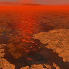 Saturno palydovo Titano paviršių formavo tokios pačios jėgos kaip ir Žemėje