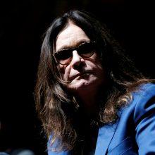 Britų roko žvaigždė O. Osbourne'as prabilo apie ligą: nebegaliu slėptis