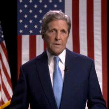 J. Bideno administracijos kovai su klimato kaita vadovaus J. Kerry