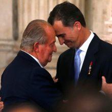 Buvęs Ispanijos karalius grąžino nesumokėtus mokesčius savo šaliai
