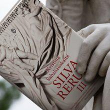 """Lenkijoje išleistas trečias K. Sabaliauskaitės romano """"Silva rerum"""" tomas"""
