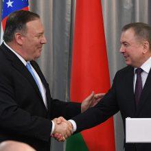 Minskas: Baltarusija pasirengusi derinti pozicijas su JAV žmogaus teisių srityje