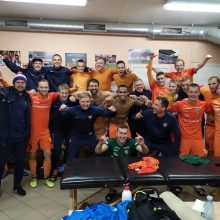 """LFF taurės staigmena: Gargždų """"Banga"""" – finale"""