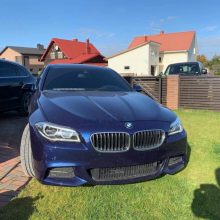 Iš aleksotiškio pavogtas BMW rastas: sulaikytas įtariamasis