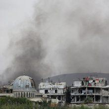 Prancūzijos teisėsaugos prašoma atlikti tyrimą dėl dujų atakos Sirijoje 2013 metais