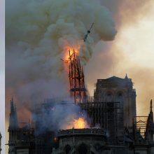 Paryžiaus katedros gaisras atgims TV dramoje