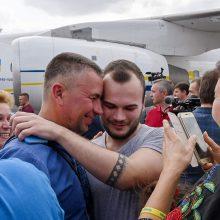 L. Linkevičius apgailestauja, kad Kijevas kalinius atgavo už didelę kainą
