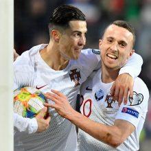 Portugalijos futbolininkai iškovojo kelialapį į Europos čempionatą