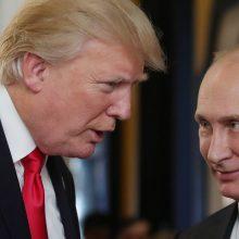 G20 viršūnių susitikime D. Trumpas ir V. Putinas galėtų susitikti trumpai