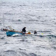 """Ramiajame vandenyne susiformavo į uraganą galinti peraugti atogrąžų audra """"Erikas"""""""