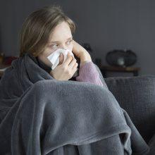 Per savaitę sumažėjo gripo atvejų, sergamumas peršalimo ligomis