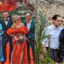 J. Nainys apie bičiulių N. Bunkės ir E. Eidėjaus vestuves: savaitę gyvenome tarsi realybės šou