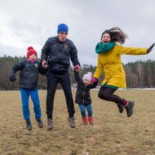 G. Junevičius: paskatinti vaikus judėti – tėvų pareiga