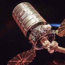 Atlikta Tarptautinės kosminės stoties orbitos korekcija