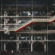 Garsusis Pompidou centras Paryžiuje trejiems metams užvers duris