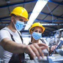 NVSC: daugėja protrūkių gamybos, transporto sektoriuose, mažiau užfiksuota paslaugų srityje