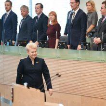 Pretendentams į prezidentus neaišku, kokių darbų imsis D. Grybauskaitė