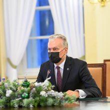 G. Nausėda: vienu metu skiepijimo procesą pradėjusi ES pademonstravo ryžtą ir vienybę