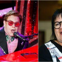 D. Ibelhauptaitė apie Eltoną Johną: po ekstravagancija slepiasi tikras žmogus