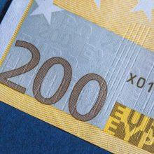 Už kelionę taksi atsiskaitė suvenyriniu banknotu