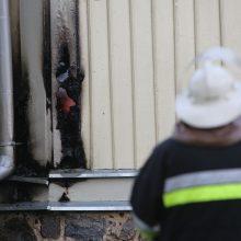 Klaipėdos rajone per gaisrą nukentėjo žmogus
