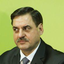 Kalėjimų departamento vadovas R. Krikštaponis atsistatydina