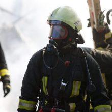 Vilniaus rajone – gaisras: pranešta, kad gyvenamasis namas dega atvira liepsna